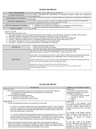 12 Reading And Writing Sample Tg Pdf Resume Typefaces