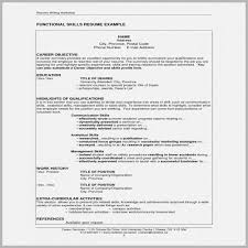 Extra Curricular Activities In Resume Examples Free Download