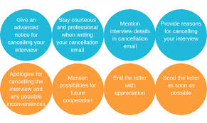 How To Write An Interview Cancellation Email Newoldstamp