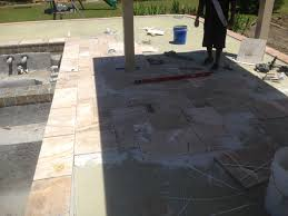 installing pavers over concrete patio beautiful outdoor patio tiles over concrete decks patios and walkways