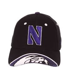 Zephyr Hat Size Chart Northwestern Wildcats Zephyr Constructed Flex Fit Black Hat With Stylized N Design With Embroidered Visor
