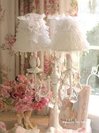 shabby chic lighting fixtures. lamp shades 040 by mylulabelles via flickr shabby chic pink lighting fixtures o