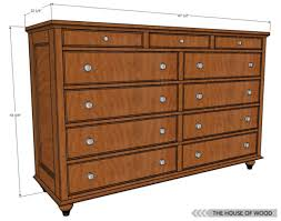 12 free diy woodworking plans for building your own dresser the house of woods free building bedroom furniture