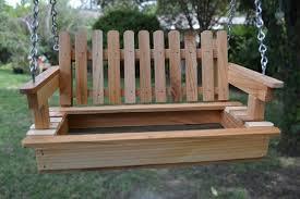 pallet furniture garden. Wooden Pallet Swing Furniture Garden