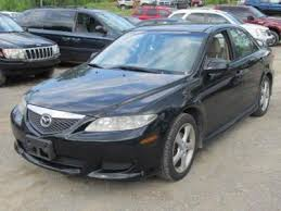 mazda 6 2004 black. 2004 mazda 6 gasoline with alloy wheels black