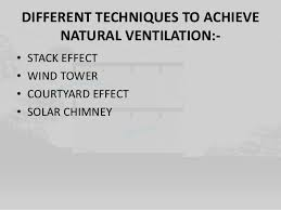 NATURAL VENTILATION LITERATURE AND CASE STUDY IN INDIA  DISSERTATION