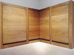 minimalist oak wall units