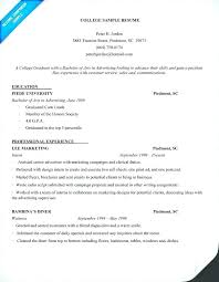 Resume Template No Experience Resume Resume Template Limited Work