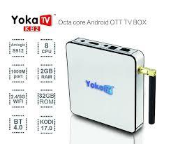 YoKa TV KB2 Amlogic S912 Octa Core Android 6.0 4K TV box | Android tv box,  Dual band, Tv