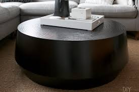Ameriwood home carver coffee table, black,5047196pcom. A Black Round Coffee Table For Our Living Room The Diy Playbook