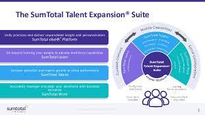 Sum Total Sumtotal Talent Expansion Suite