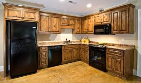 Bathroom Cabinets Knotty Alder With Coffee Stain And Black