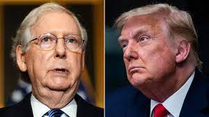 McConnell responds to Trump's 'Old Crow ...