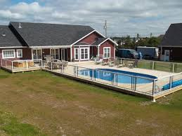 semi inground pool cost. These Pools Are Meant To Provide A More Finished Look Your Backyard Without The Larger Cost Associated With In Ground Pools. Semi Inground Pool T