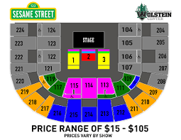 Wolstein Seating Chart Sesame Street Live Make Your Magic
