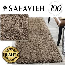 details about safavieh modern plush thick area rug soft fluffy runner carpet 2 3 x 7 ft