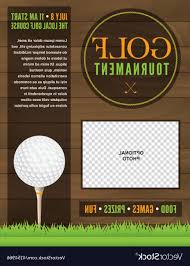 Golf Tournament Flyer Template Golf Tournament Flyer Template Vector Cultracing