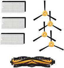 Yonice 1 Brush& 3 Hepa Filters & 4 Side Brushes for ... - Amazon.com