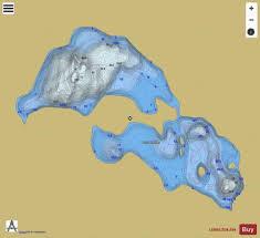 Lac Des Iles Depth Chart Iles Lac Des Fishing Map Ca_qc_v_05903 Nautical