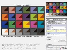 Matrix Color Chart Online Color Correction Matrix Ccm Imatest