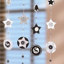 Weihnachtliche Fensterdeko Aus Papier Weihnachten Dekoration