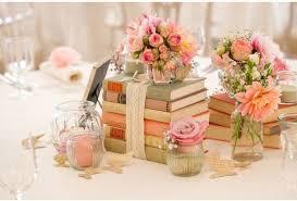 wedding decor inspiration antique book centerpieces