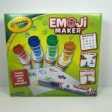 Crayola Emoji Stamp Maker Marker Maker Gift Ages 6 7 8