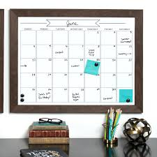 dry erase wall calendar decal large yearly pops wpe0981 black
