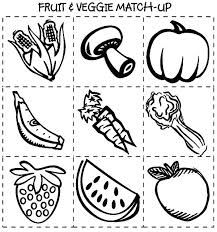 Healthy Coloring Pages Food Coloring Sheets For Preschoolers Healthy
