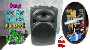 Mổ Bụng Loa Kéo Karaoke Bluetooth Enkor L1218K: Xem Linh Kiện Bên Trong -  TaChaBa.Com