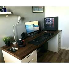 6 foot desk. 6 Foot Desk Medium Size Of Computer Table Contemporary Small Workstation Office Furniture .
