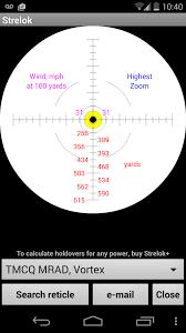 Bdc Reticle Ballistics Chart Strelok One Of The Best Free Ballistic Calculators On The