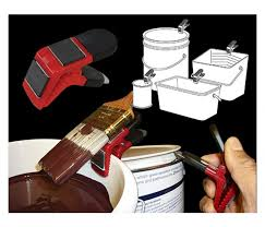 paint brush holder. magnetic paint brush holder clip extra