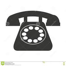 Old Telephone Design Old Telephone Isolated Icon Design Stock Illustration