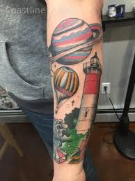 Coastline Tattoo Provincetown Cape Cod Custom Tattooing Art