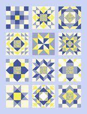 30 Days of Sewing Quilt Blocks - A Sampler Quilt Tutorial (Piece N ... & The Twelve Block Sampler Quilt Offer Adamdwight.com