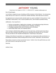 Leading Professional Office Assistant Cover Letter Examples