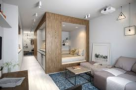 small studio apartment interior design