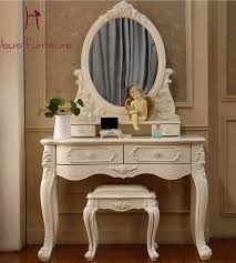 Luxury French style Pricess dresser makeup dressing table with mirror vanity  set-in Dressers from Furniture on Aliexpress.com | Alibaba Group