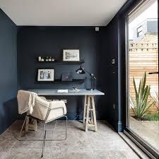 home office work room furniture scandinavian. Scandinavian Style Home Office Dark Blue Walls White Ceilings Beige Ceramic Floors Sea Working Desk Work Room Furniture U