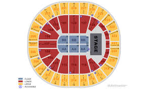 Key Arena Detailed Seating Chart Key Arena Map Map 2018