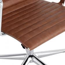 eames ribbed chair tan office. Classic Eames Style Ribbed Office Executive Chair Coffee Tan