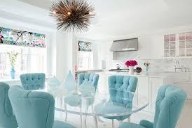 turquoise velvet chairs