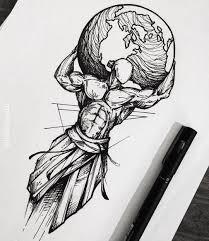 цветной универсальный эскиз тату черно белые 406