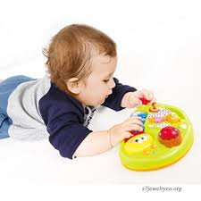 Early Education 6 Months Olds Baby Toy Learning Machine with Lights and Music Songs Various