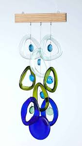glass wind chimes glass wind chimes blue green glass wind chimes sound glass wind chimes
