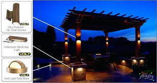 landscape lighting kits home depot low voltage led lights outdoor kitchen island with pergola and low