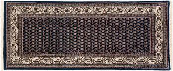 2x6 sarouk blue oriental rug runner 043962