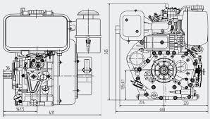 wiltec dieselmotor diesel motor kartsport generator dieselmotor 10ps c186fd q2