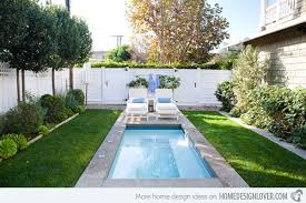 Pool Designs For Small Backyards Custom 48 Amazing Backyard Pool Ideas Home Design Lover